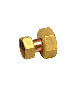 R 81 - Reduced socket female/female - Flat bearing