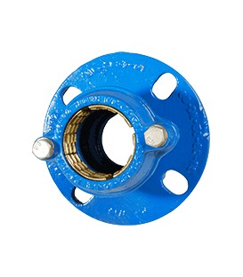 2503 - Flange adaptor for polyethylene pipes