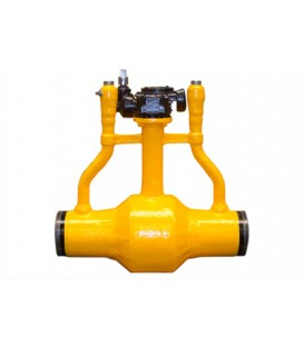 Gas exhaust Underground Fully Welded Ball Valve