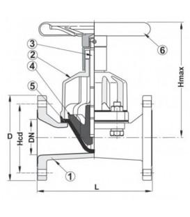 469752 - Diaphragm Valve