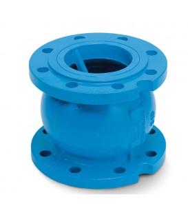 Axial (nozzle) type check valves