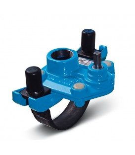 Tapping saddles and valves