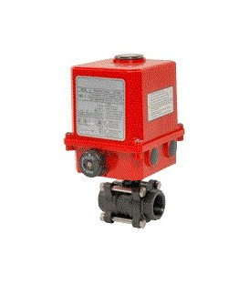736 XS - 3 piece carbon steel ball valve UMA3,5