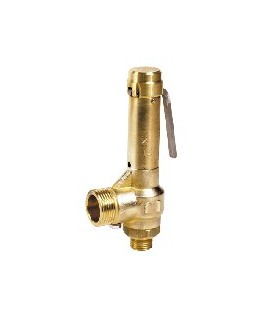 2851 - Brass - Pipe outlet & lever