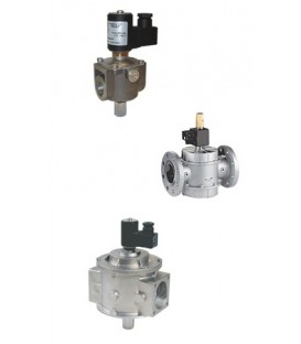 M16/RM - Biogas - Solenoid valve with manual resetting