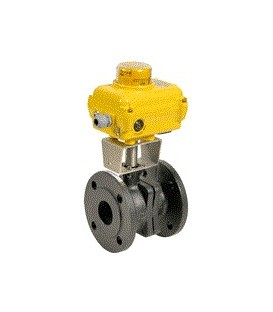 507 - Cast iron flanged ball valve type SA05