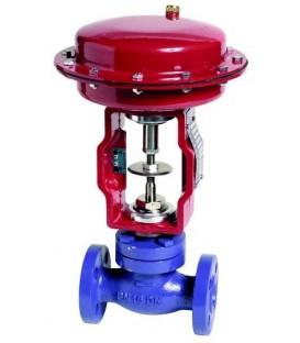 Pneumatic actuated control valves