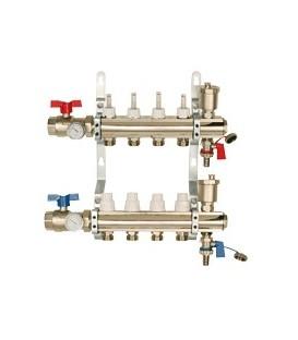 Heating floor components