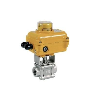 703 - 3 piece stainless steel ball valve SA05