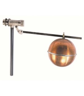 491 - Brass body - Copper float