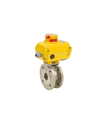 771 XS - Stainless steel flanged ball valve wafer type SA05