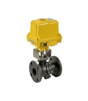 756 - Split-body carbon steel flanged ball valve SA05