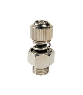 Brass throttle valve