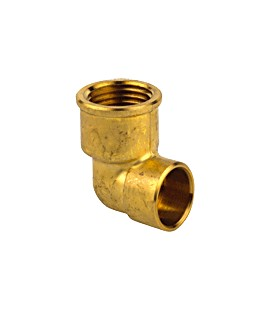 90 GC - Elbow female threaded/female copper