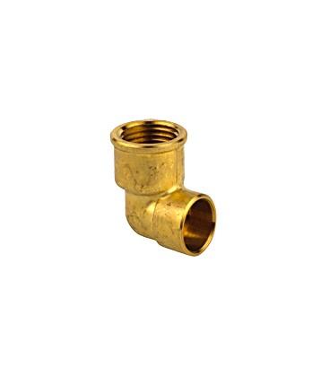90 GC - Elbow female threaded/female copper