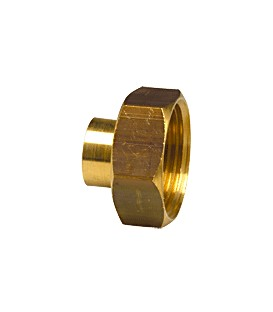 359 GC - 2 piece union female threaded/female copper