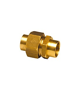 340 CU - Welding union female copper 2 ends