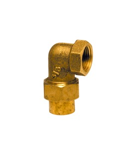 96 GCU - Elbow union female threaded/female copper
