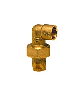 98 GCU - Elbow union male threaded/female copper