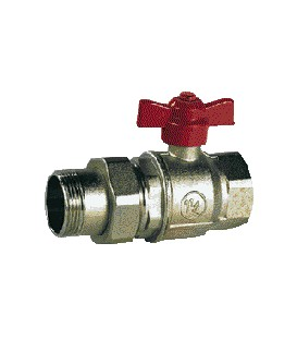 Ball valve with union fitting