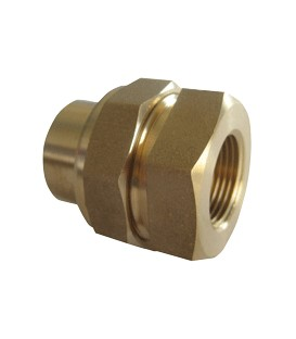 Union fitting female/female - Conical bearing