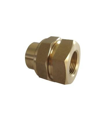 Union fitting female/female - Conical bearing