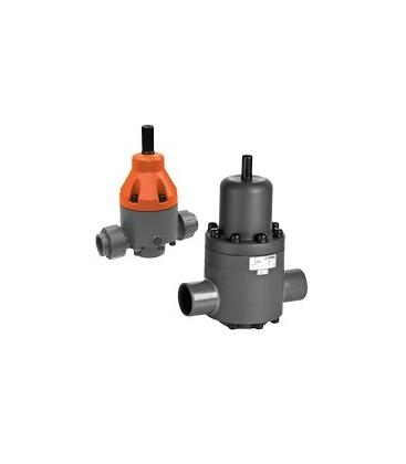 DHV712 - PVC-U - DN65 to 100 flange