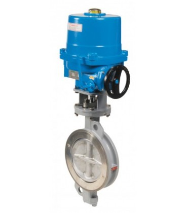 1113 - Carbon steel double offset butterfly valve