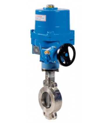 1115 - Carbon steel double offset butterfly valve NA09