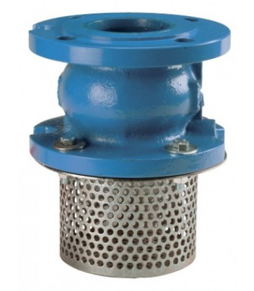 368 - Flanged PN16 - Check valve 369 with strainer basket