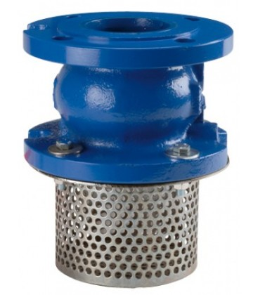 363 - Flanged PN16 - Check valve 366 with strainer basket