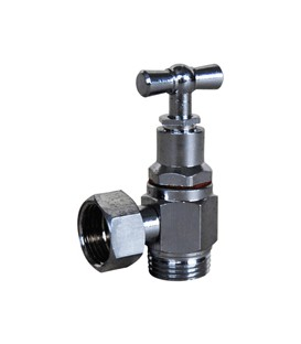 Sanitary valve with gland pack