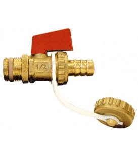 Drain cock ball valve