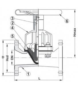 469652 - Membran Ventil