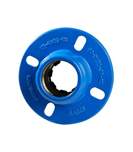2502 - Flange adaptor for PVC & polyethylene pipes