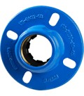 2502 - Flange adaptor for PVC & polyethylene pipes