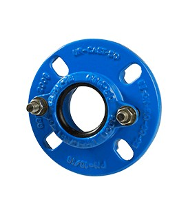 2504 - Flange adaptor for PVC pipes