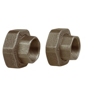 Union fittings threaded