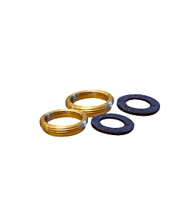 Adaptors with gaskets