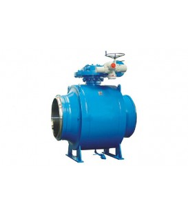 Large Fully Welded Ball Valve