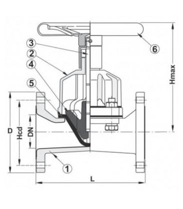 469622 - Diaphragm Valve