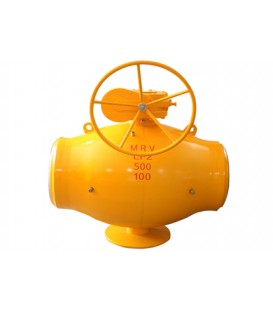 Single Weding Line Welded Ball Valve