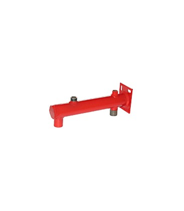 Wall brackets with manometer outlet