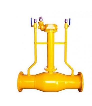Flange gas exhaust underground fully welded ball valve