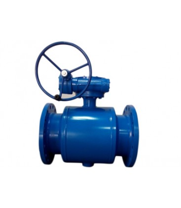 Flanged fully welded ball valve