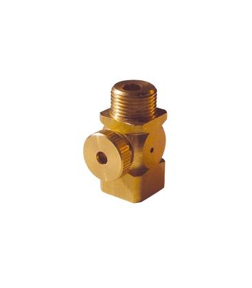 Manometer holder valves