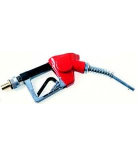 Gas oil nozzle w/ automatic shut-off