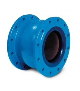 Non slam nozzle check valve