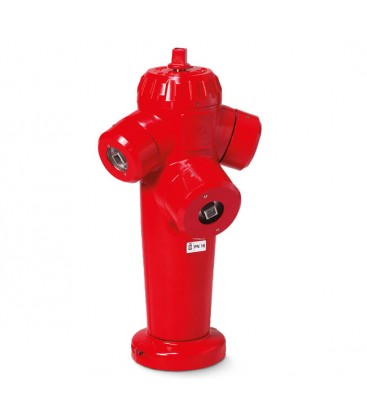 "Pillar fire hydrants with apparent outlets – ""Saphir"" (French standard)"