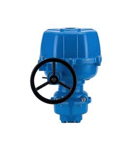 SR - Spring return electric actuator  ATEX certified